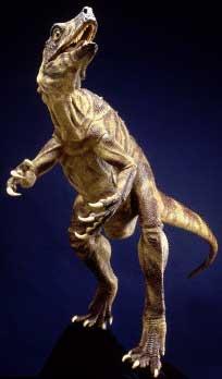 Le dinosaure Herrerasaurus.
