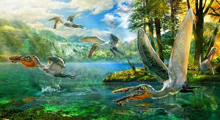 Le pt�rosaure Ikrandraco avatar.