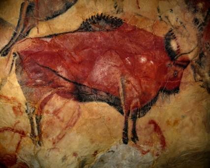 Bison préhistorique.