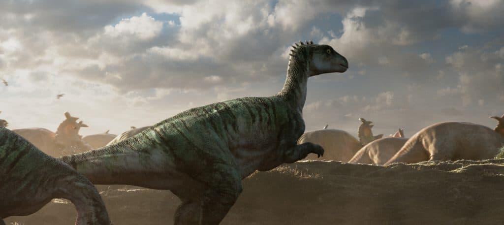 Le dinosaure Parksosaurus.