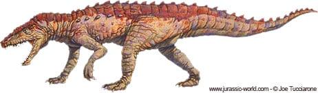 Postosuchus, un archosaure.