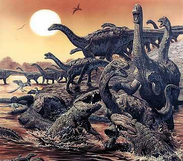 Le dinosaure Rapetosaurus.