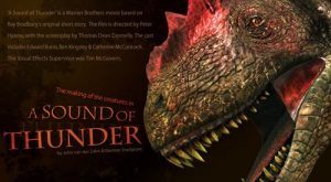 Un dinosaure du film A Sound of Thunder.