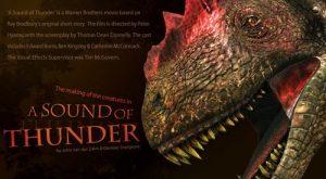 Un dinosaure du film A Sound of Thunder.