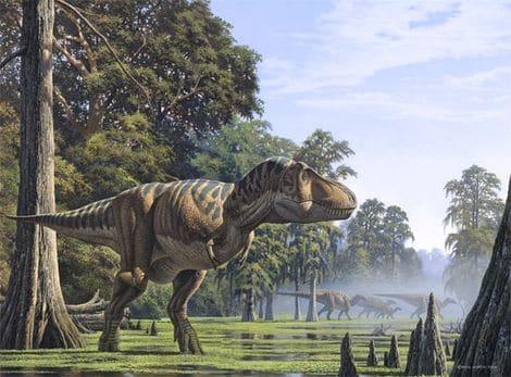 Tyrannosaurus Rex ou T-rex.