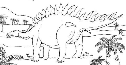 Coloriages De Dinosaures Et Dessins D Animaux Préhistoriques