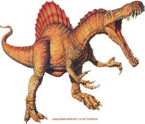 Le dinosaure Spinosaure.