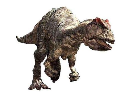 Le dinosaure Allosaurus était un féroce carnassier.