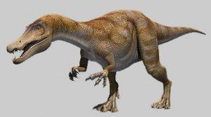 Le dinosaure Baryonyx.