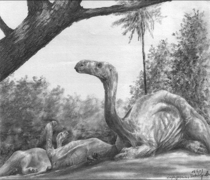 lufengosaurus.