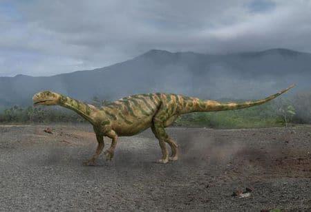 Dinosaure Thecodontosaurus : un des dinosaures en France.