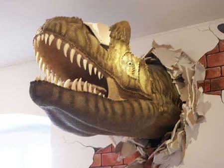 Dinosaure de Plaimbois-du-Miroir (Doubs).