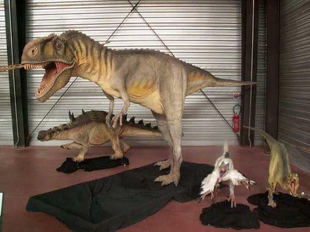 Dinosaures du Crétacé français. Il y a un musée à Espéraza (Aude) pour voir des fossiles de dinosaures français.
