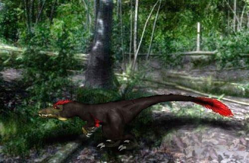 Le dinosaure Geminiraptor.