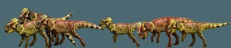 Microceratus dans le film Jurassic World.