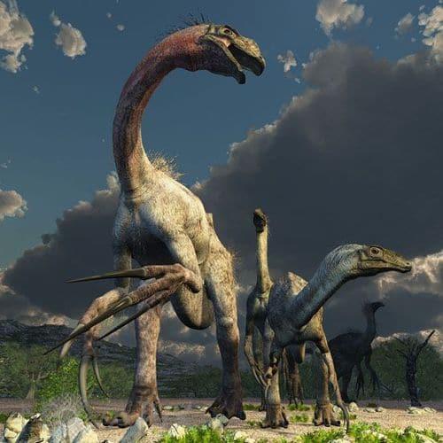 Therizinosaurus.
