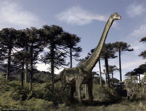 Le dinosaure Atacamatitan chilensis.