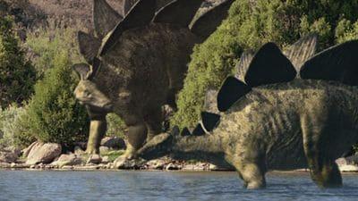 Dinosaure Stegosaure.