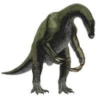 Un therizinosaurus.