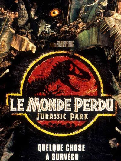 Film Jurassic Park 2 : Le monde perdu.