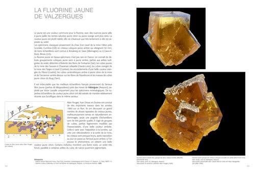 La fluorine de la mine de Valzergues.