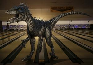 Un dinosaure dans Primeval.