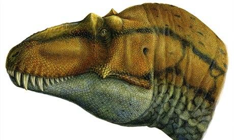 Le dinosaure Lythronax Argestes.