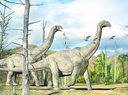 Dinosaure Huanghetitan.