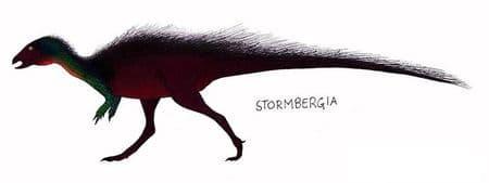 Dinosaure Stormbergia.