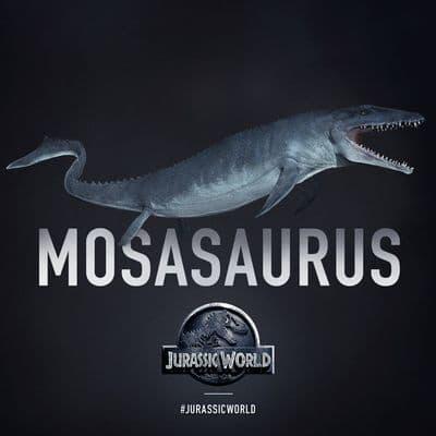Mosasaurus du film Jurassic World.