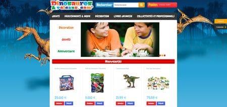 Jouets dinosaures pour les enfants.