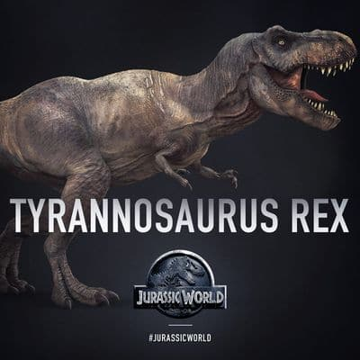 Tyrannosaurus du film Jurassic World (Tyrannosaure).