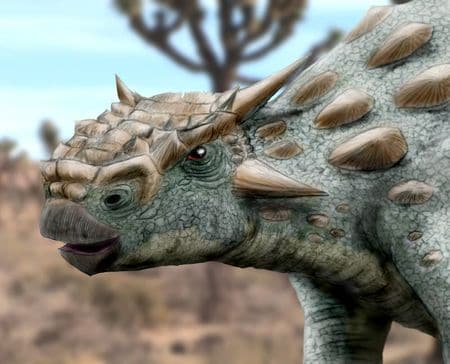 Dinosaure Minotaurasaurus.