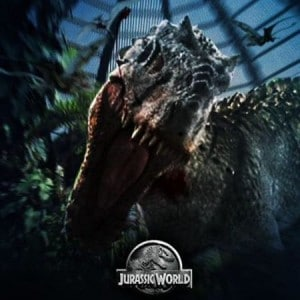 Indominus Rex, le grand méchant de Jurassic World.