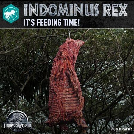 Le repas d'Indominus Rex.