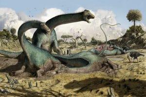 Dinosaure Kaatedocus.