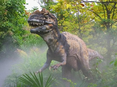 Dinosaure Metriacanthosaurus.