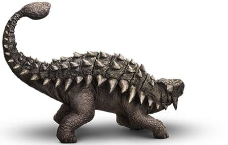 Dinosaure Ankylosaure du film Jurassic World.