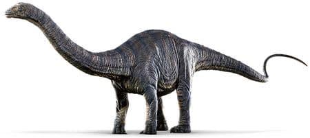 Apatosaure du film Jurassic World.