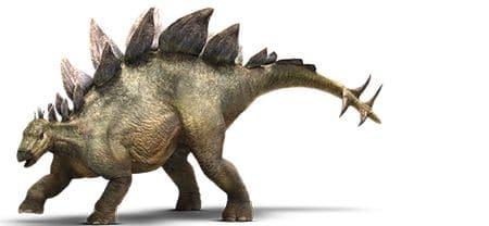 Stégosaure du film Jurassic World.