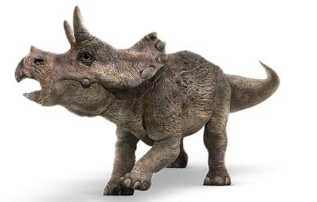 Triceratops du film Jurassic World.