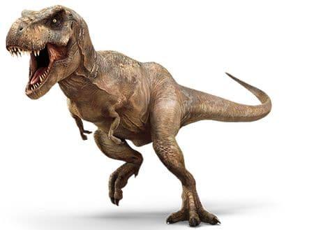 Tyrannosaure du film Jurassic World.