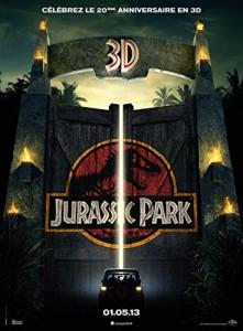 DVD 3D du film Jurassic Park.