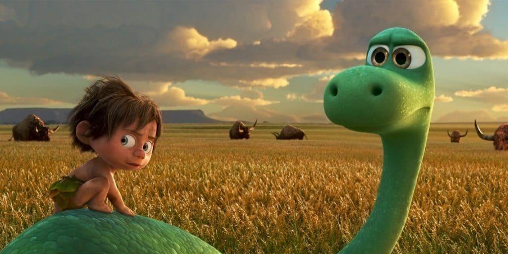 Le bon dinosaure et son ami Arlo.