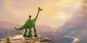 Le bon dinosaure Arlo et son copain Spot.