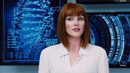 Claire Dearing (Bryce Dallas Howard) dans le film Jurassic World.